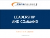Leadership and Command